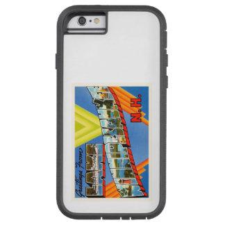 湖のWinnipesaukee #2ニューハンプシャーNHの古い旅行 Tough Xtreme iPhone 6 ケース
