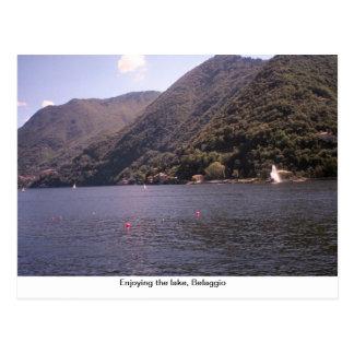 湖を楽しむこと、Belaggio ポストカード