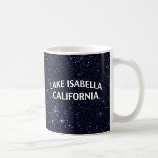 湖イザベラカリフォルニア コーヒーマグカップ