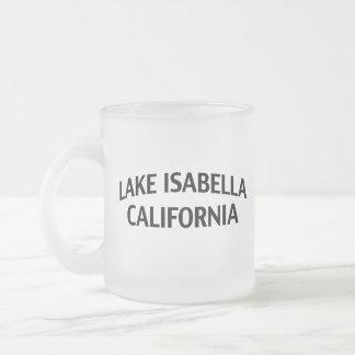 湖イザベラカリフォルニア フロストグラスマグカップ