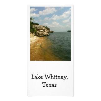 湖ウィットニー、景色テキサス州 カード