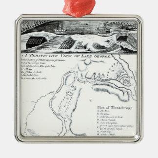 湖ジョージの透視図 メタルオーナメント