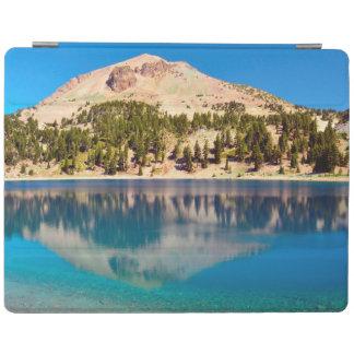 湖ヘレン、火山ラッセンの反射 iPadスマートカバー