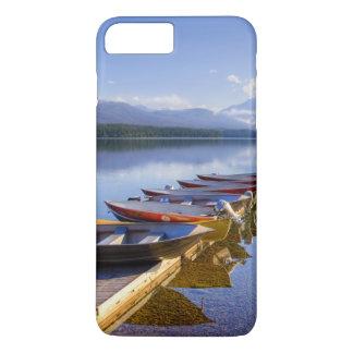 湖マクドナルドのグレーシャー国立公園、モンタナ、 iPhone 8 PLUS/7 PLUSケース