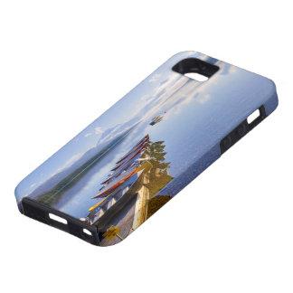 湖マクドナルドのグレーシャー国立公園、モンタナ、 iPhone SE/5/5s ケース