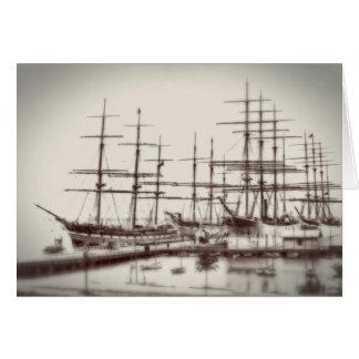 湖ラインの船 カード