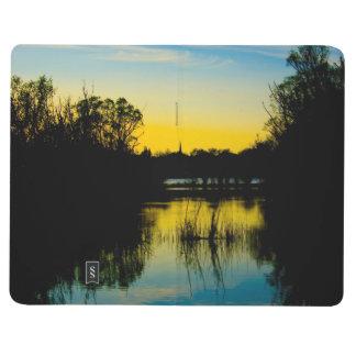 湖上の日没 ポケットジャーナル