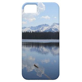 湖山の景色美しいの写真の電話箱 iPhone SE/5/5s ケース