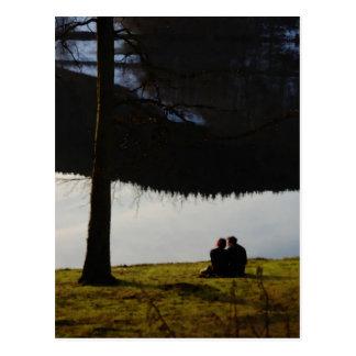 湖畔の恋人 ポストカード