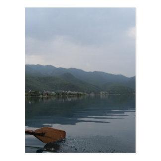 湖 ポストカード