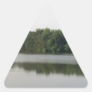 湖Accotinkのパノラマ式 三角形シール