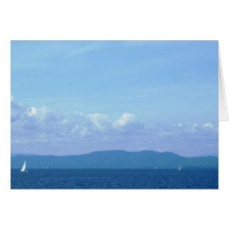 """""""湖Champlain """" カード"""