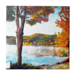 湖Champlain タイル