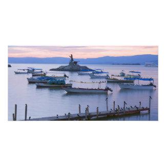 湖Chapalaおよび小島 カード