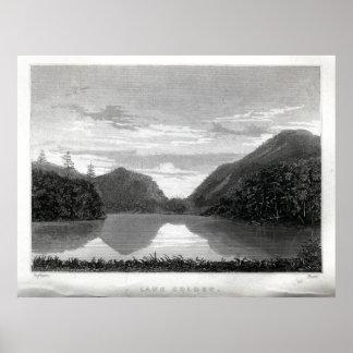 湖Colden ポスター
