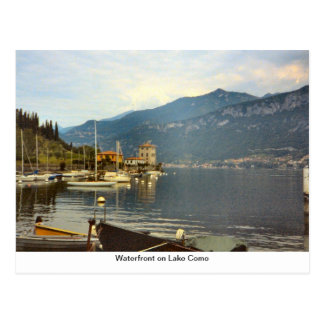 湖Comoの水辺地帯 ポストカード