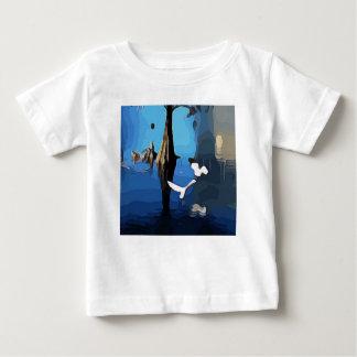 湖Eolaの白い鳥 ベビーTシャツ
