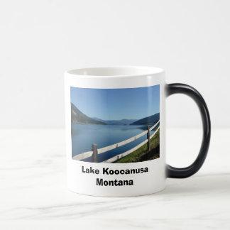 湖Koocanusa北西モンタナ マジックマグカップ