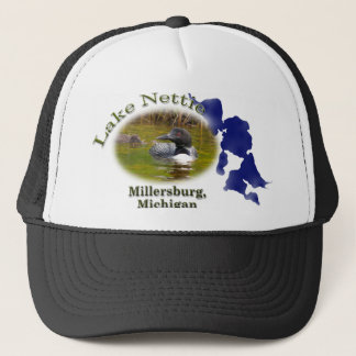 湖Nettieのミシガン州の帽子 キャップ