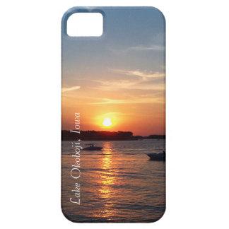 湖Okoboji、アイオワの日没 iPhone SE/5/5s ケース