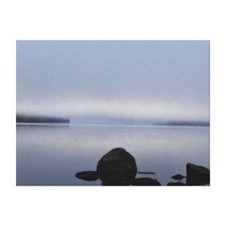 湖SINCLAIRタスマニアオーストラリア キャンバスプリント