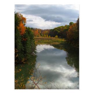 湖Treman ポストカード