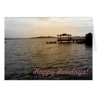 湖view_1カード グリーティングカード