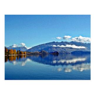 湖Wanaka ポストカード