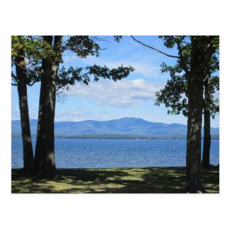 湖Winnipesaukee ポストカード