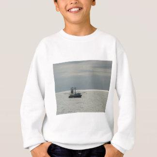 湾のエビのボート スウェットシャツ