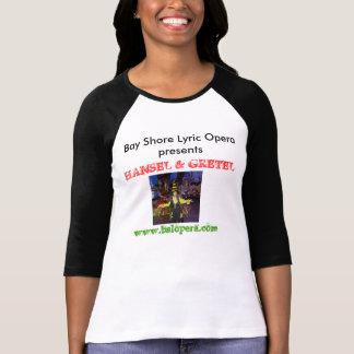 湾の海岸の叙情詩的なオペラHanselおよびGretelのワイシャツ Tシャツ
