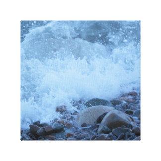 湾の石 キャンバスプリント