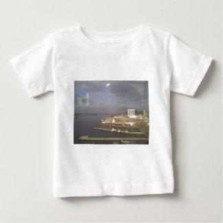 湾のCoronadoの島の眺め ベビーTシャツ