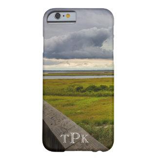 湾のiPhone6ケース上のモノグラムのな嵐の空 Barely There iPhone 6 ケース