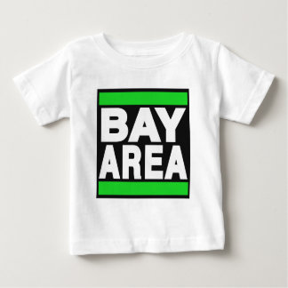 湾区域の緑 ベビーTシャツ