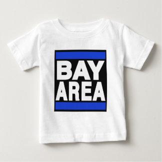 湾区域の青 ベビーTシャツ