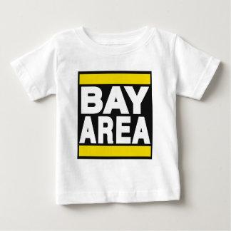 湾区域の黄色 ベビーTシャツ