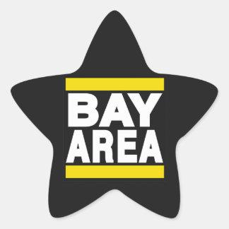 湾区域の黄色 星シール