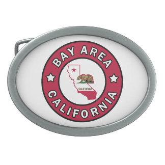 湾区域カリフォルニア 卵形バックル