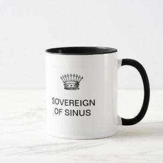湾曲のコーヒー・マグの主権者 マグカップ