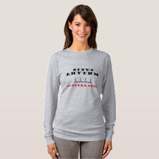 湾曲のリズムは大げさです Tシャツ