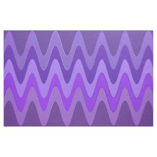 湾曲はすみれ色の紫色を振ります + あなたのアイディア ファブリック