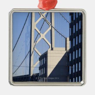 湾橋および建物、サンフランシスコ メタルオーナメント