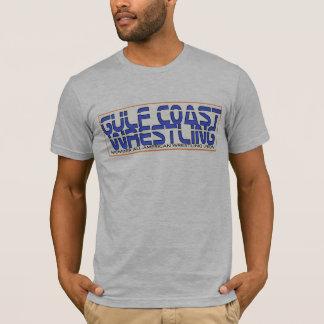 -湾海岸のレスリングのロゴのティーリング・オブ・ファイア Tシャツ