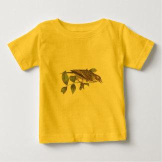 湾飛んだすずめ(Fringillaのgraminea) ベビーTシャツ