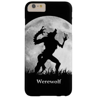 満月のカッコいいの狼人間およびユニーク BARELY THERE iPhone 6 PLUS ケース