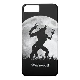 満月のカッコいいの狼人間およびユニーク iPhone 7 PLUSケース