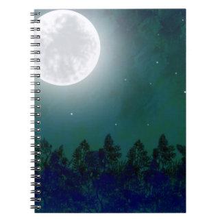 満月のノート ノートブック