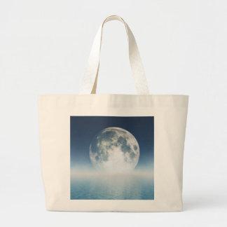 満月のバッグ ラージトートバッグ