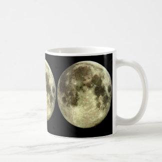 満月のマグ コーヒーマグカップ